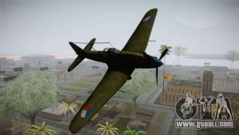 ИЛ-10 Czech Air Force for GTA San Andreas