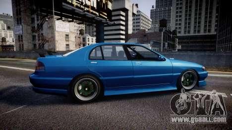 Bravado Feroci Los Santos Customs Edition for GTA 4 left view