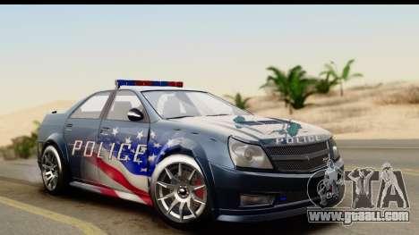 EFLC TBoGT Albany Police Stinger IVF for GTA San Andreas
