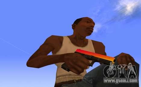 Glock-18 gradient CS:GO for GTA San Andreas