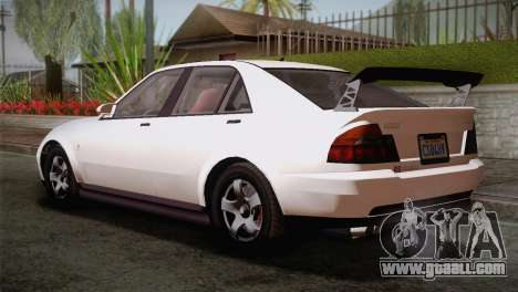 GTA 5 Karin Sultan SA Mobile for GTA San Andreas