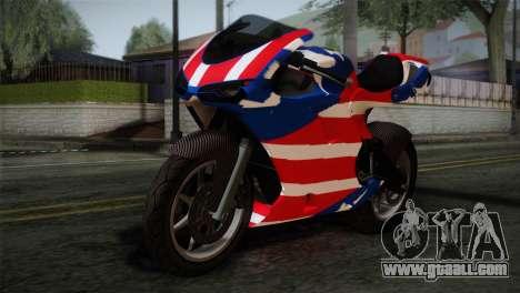 GTA 5 Bati American for GTA San Andreas