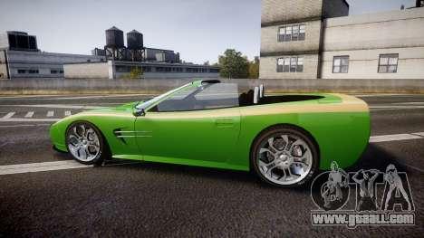 Invetero Coquette Roadster for GTA 4 left view