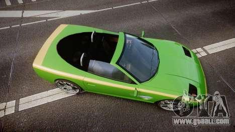 Invetero Coquette Roadster for GTA 4 right view