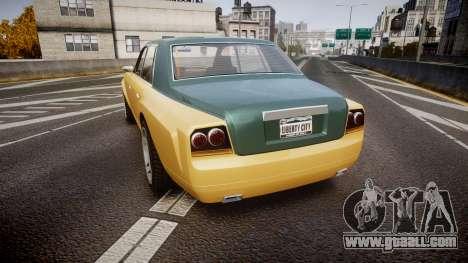 Enus Super Diamond 2 Colors for GTA 4 back left view