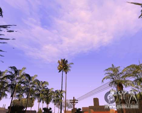 New clouds and Colormod for GTA San Andreas