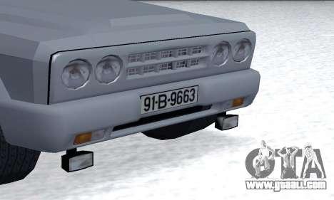 Aro 328 for GTA San Andreas inner view