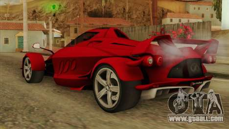 Tramontana XTR for GTA San Andreas left view