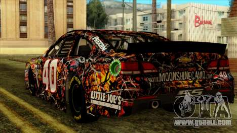 NASCAR Chevy SS 2013 for GTA San Andreas left view