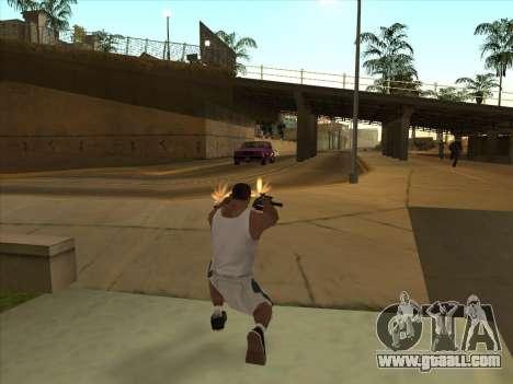 Russian submachine guns for GTA San Andreas fifth screenshot