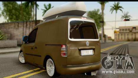 Volkswagen Caddy for GTA San Andreas left view