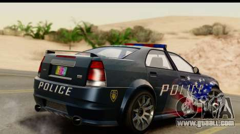 EFLC TBoGT Albany Police Stinger IVF for GTA San Andreas left view