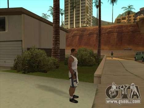 Russian submachine guns for GTA San Andreas sixth screenshot