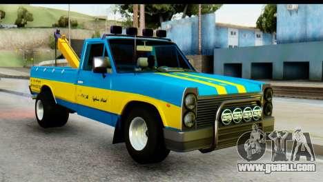 Nissan Junior 1982 Pickup Towtruck for GTA San Andreas