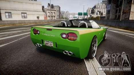 Invetero Coquette Roadster for GTA 4 back left view