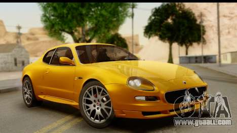 Maserati Gransport 2006 for GTA San Andreas