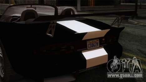 GTA 5 Bravado Banshee IVF for GTA San Andreas back view