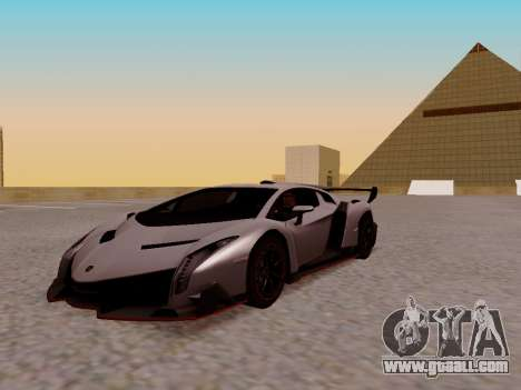 Lamborghini Veneno for GTA San Andreas