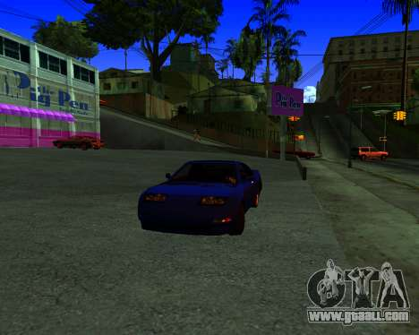 Warm California ENB for GTA San Andreas second screenshot