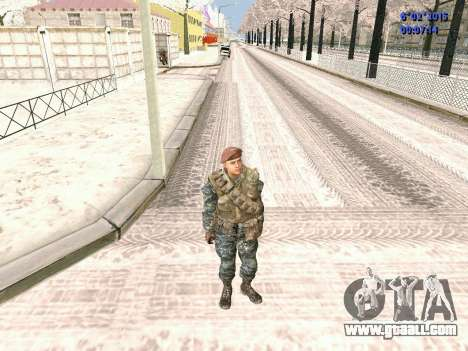 The special forces of the USSR CoD Black Ops for GTA San Andreas second screenshot