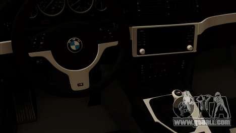 BMW 540 E39 Accuair for GTA San Andreas right view