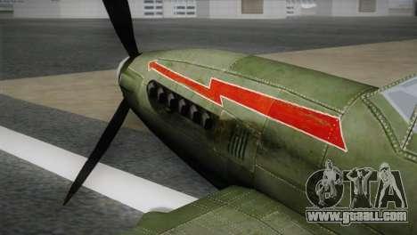 ИЛ-10 Polish Navy for GTA San Andreas right view
