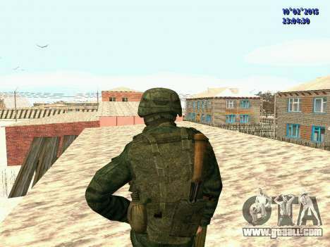 Spetsnaz MVD for GTA San Andreas third screenshot