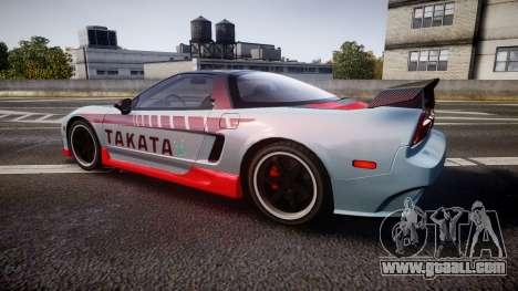 Honda NSX 1998 [EPM] takata for GTA 4 left view
