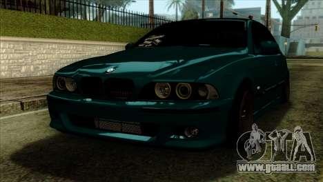 BMW 540 E39 Accuair for GTA San Andreas
