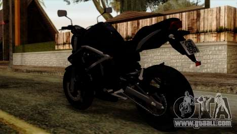 Kawasaki ER-6N 2010 for GTA San Andreas left view