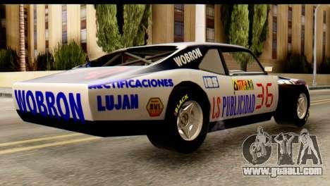 Chevrolet Series 2 Turismo Carretera Mouras for GTA San Andreas left view