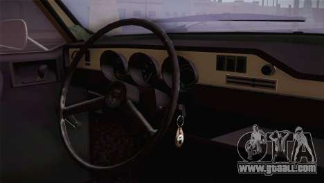 Dacia 1300 Biharia for GTA San Andreas right view