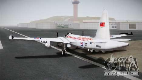 P2V-7 Lockheed Neptune JMSDF for GTA San Andreas left view