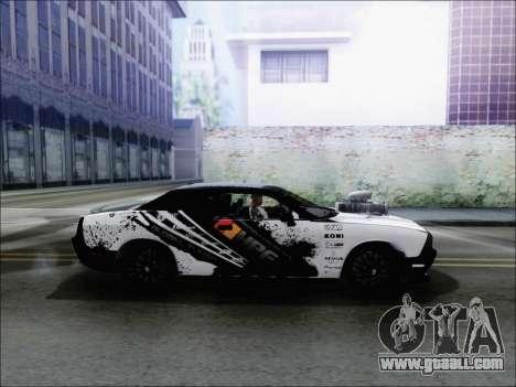 Dodge Challenger SRT8 Hemi Drag Tuning for GTA San Andreas left view