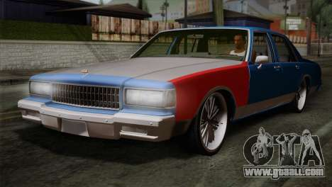 Chevy Caprice Hustler & Flow for GTA San Andreas