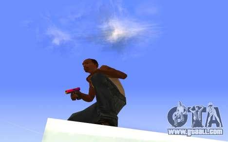 Glock-18 gradient CS:GO for GTA San Andreas third screenshot