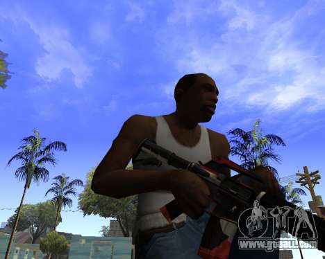 M4A1-S Syrex CS:GO for GTA San Andreas