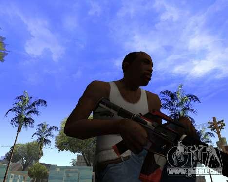 M4A1-S Syrex CS:GO for GTA San Andreas third screenshot