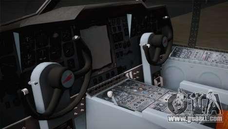 P2V-7 Lockheed Neptune JMSDF for GTA San Andreas back view