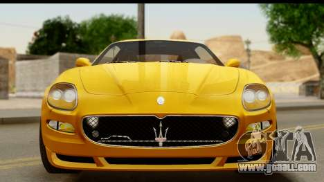 Maserati Gransport 2006 for GTA San Andreas side view