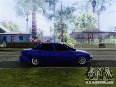 VAZ 2110 БПАN Kemerovo for GTA San Andreas left view