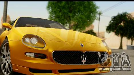 Maserati Gransport 2006 for GTA San Andreas back left view