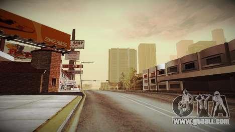 The not China ENB v2.1 Final for GTA San Andreas