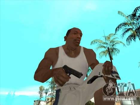 Russian submachine guns for GTA San Andreas ninth screenshot