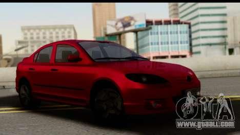 Mazda 3 2008 for GTA San Andreas