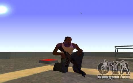 AK-47 Desert rebel CS:GO for GTA San Andreas forth screenshot