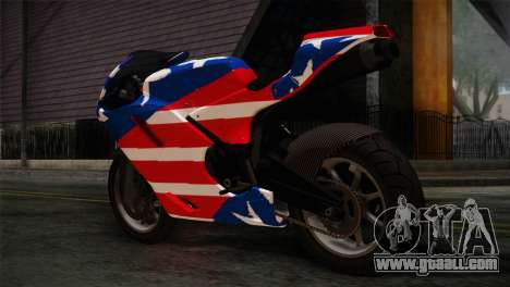 GTA 5 Bati American for GTA San Andreas left view