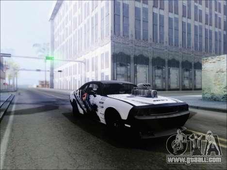 Dodge Challenger SRT8 Hemi Drag Tuning for GTA San Andreas