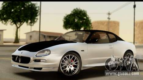 Maserati Gransport 2006 for GTA San Andreas interior