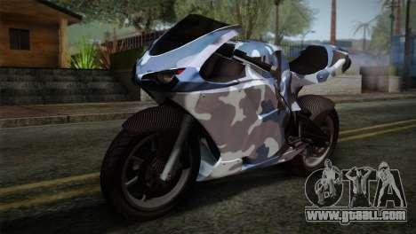 GTA 5 Bati Blue for GTA San Andreas